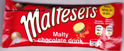 Maltesers - instant hot chocolate drink - single portion sachet online